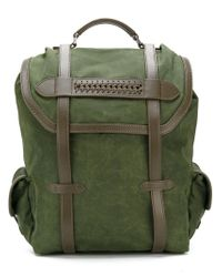 Stella McCartney Green Falabella Backpack for men