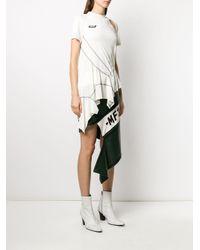 Monse デコンストラクテッド Tシャツ White