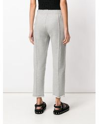 Alexander Wang Blue Cropped Jeans