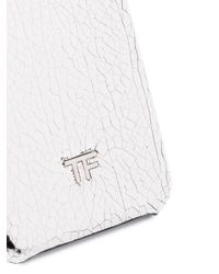 Tom Ford メタリック Iphone ケース White