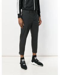 Neil Barrett - Black Cropped Trousers for Men - Lyst