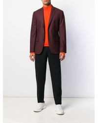 メンズ J.Lindeberg Newman タートルネック セーター Orange