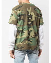 メンズ Supreme グラフィック Tシャツ Green
