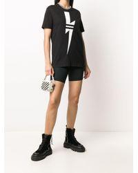 Neil Barrett Thunderbolt Tシャツ Black
