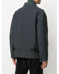 メンズ Nicholas Daley パッチ シャツジャケット Gray