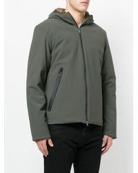 Rrd Green Winter Storm Hooded Jacket for men