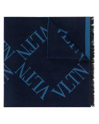 Écharpe VLTN Valentino pour homme en coloris Blue