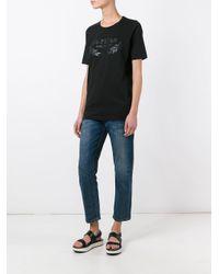 DSquared² Black 24-7 Star Logo T-shirt