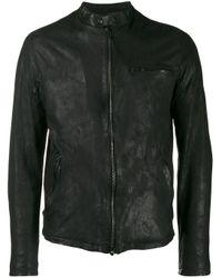 メンズ Salvatore Santoro ジップポケットジャケット Black