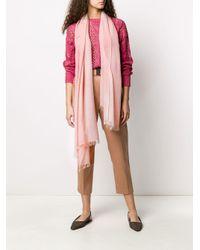 Brunello Cucinelli ライトウェイト スカーフ Pink