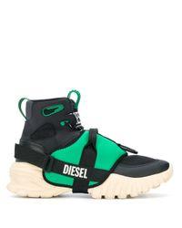 DIESEL High-Top-Sneakers in Black für Herren
