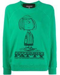 Marc Jacobs Peppermint Patty スウェットシャツ Green