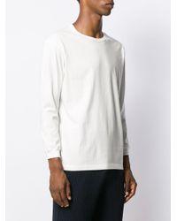 メンズ Issey Miyake ジャージー Tシャツ White
