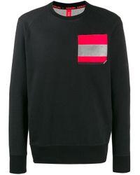 Raeburn Black Chest Pocket Sweatshirt for men