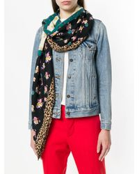 COACH プリント スカーフ Multicolor