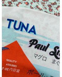 Paul Smith Multicolor Tuna Print Scarf for men