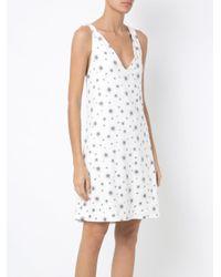 Olympiah - White Printed Shift Dress - Lyst