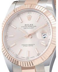 Наручные Часы Oyster Perpetual Datejust Pre-owned 41 Мм 2020-го Года Rolex для него, цвет: Multicolor