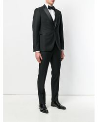 Tagliatore - Black Two Piece Suit for Men - Lyst