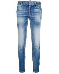 DSquared² Blue Twiggy Jeans