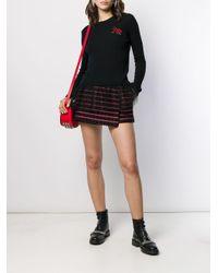 RED Valentino チェック ショートパンツ Black