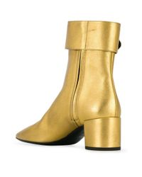 Saint Laurent ジョプリン 50 ブーツ Yellow
