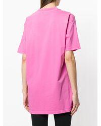 DIESEL - Pink Boyfriend T-shirt - Lyst