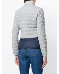 Peuterey - Gray Contrast Puffer Jacket - Lyst