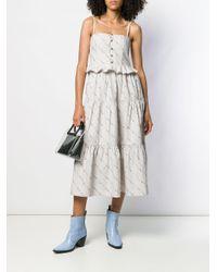 Ganni プリント ドレス Multicolor