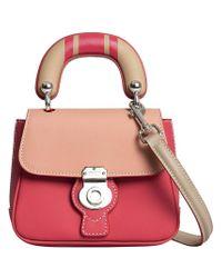 Burberry - Pink Mini Dk88 Top Handle Bag - Lyst