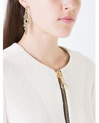 Jennifer Fisher - Metallic 'molten Drop' Earrings - Lyst