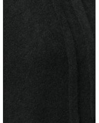 Laneus ドローストリング パーカー Black