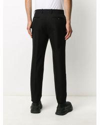 メンズ Alexander McQueen テーラードパンツ Black
