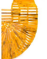 Cult Gaia - Brown Basket Clutch Bag - Lyst