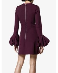 Roksanda Red Gaia Silk Blend Mini Dress