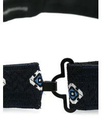 Ermenegildo Zegna - Blue Floral Bow Tie for Men - Lyst