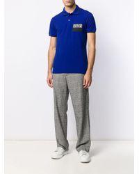 メンズ Versace Jeans ポロシャツ Blue