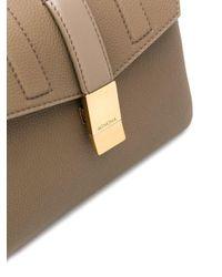 Petit sac à main à design géométrique Agnona en coloris Multicolor