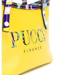 Emilio Pucci ロゴプリント バッグ Yellow