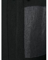 Moohong | Black Patchwork Coat for Men | Lyst