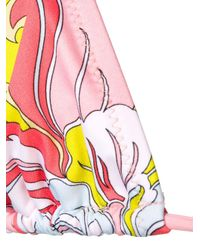 Bikini imprimé Emilio Pucci en coloris Pink