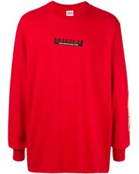 Supreme Red 1994 L/s Tee for men