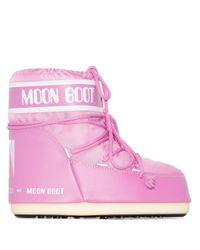 Moon Boot スノーブーツ Pink