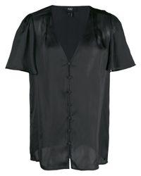 Blusa con scollo a V di PAIGE in Black