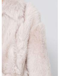 Blancha Oversized Jas in het Pink