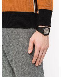 D1 Milano Skeleton 腕時計 Black