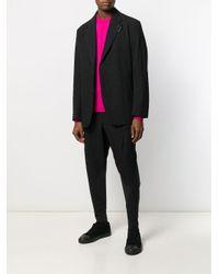 Issey Miyake Black Wrinkle Effect Blazer for men