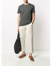 メンズ Fedeli ラウンドネック Tシャツ Multicolor