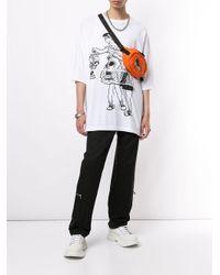 メンズ Undercover プリント Tシャツ White