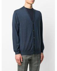 Paul Smith Gebreid Vest in het Blue voor heren
